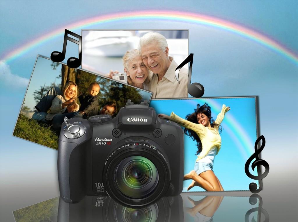 Создать видео поздравление онлайн с днем рождения из фотографий, открытка
