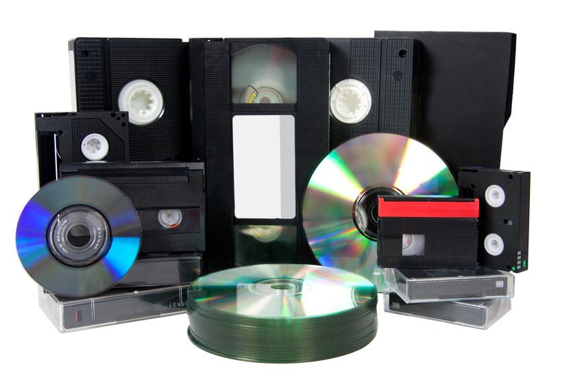 Переписать с видеокассеты на диск