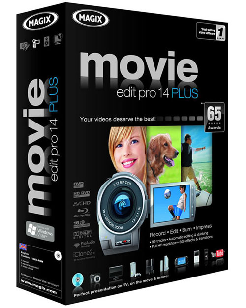 magix movie edit-pro 14