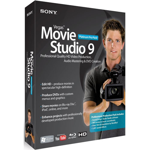 sony-vegas movie studio 9