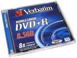 Двухслойные DVD диски