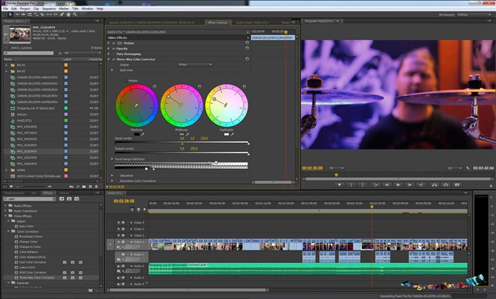 Видеомонтаж в Adobe Premiere Pro CC