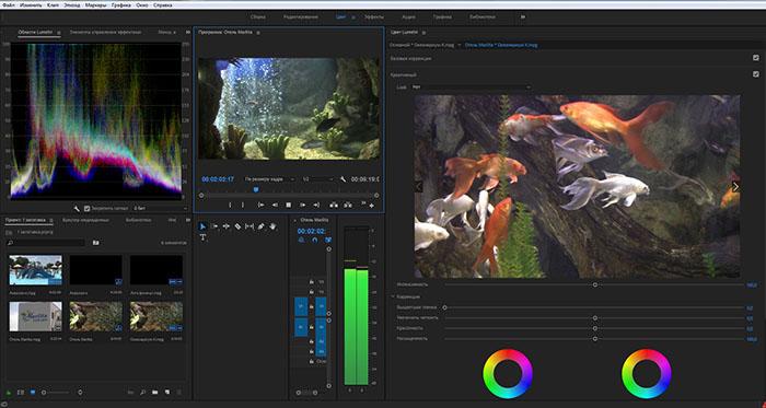 Обучение видеомонтажу в Adobe Premiere Pro