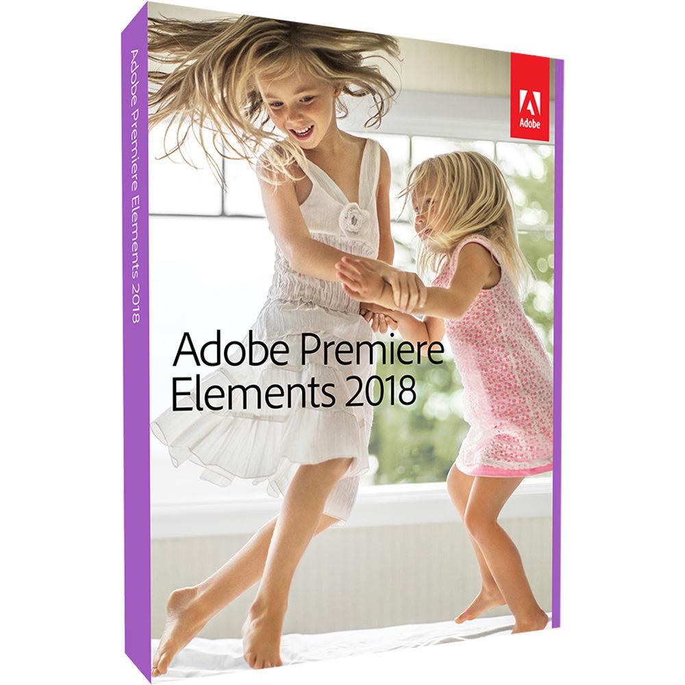 Adobe Premiere Elements видеоредактор начального уровня