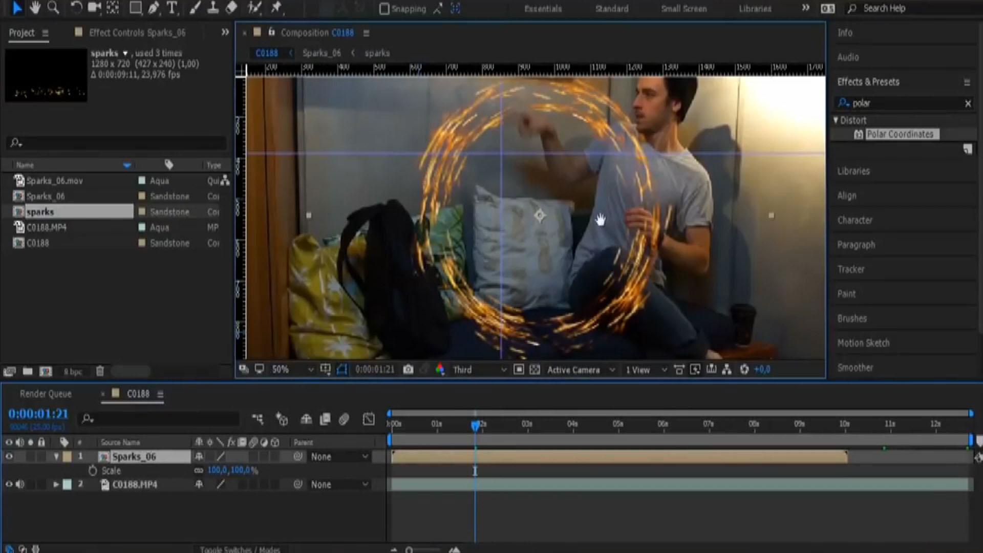 Настройка Adobe After Effects