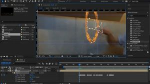 Интерфейс Adobe After Effects