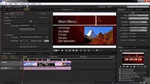 Работа в программе Adobe Encore