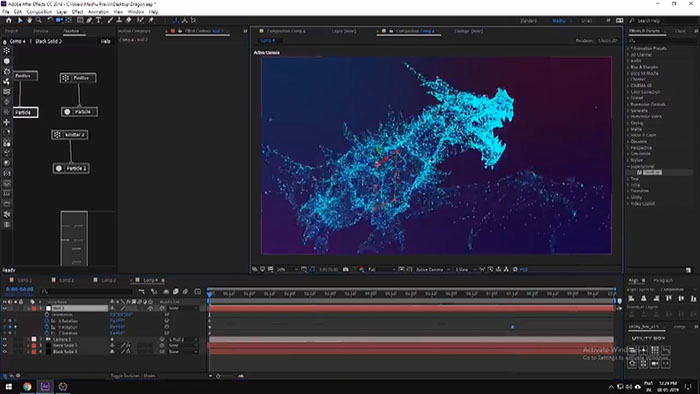 Анимация в Adobe After Effects