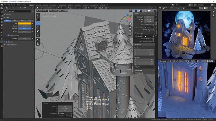 Blender программа для 3-D моделирования